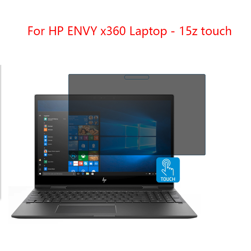 Pour HP ENVY x360 Ordinateur Portable-15z tactile Écran Protecteur Confidentialité Anti-Blu-ray efficace protection de vision