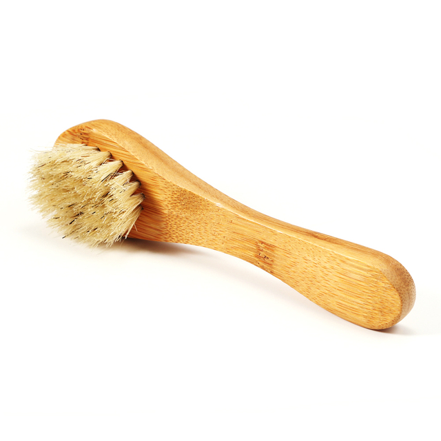 Bamboo Facial Cleansing Brush Face & Body Hygiene Personal Hygiene
