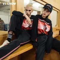 VIISHOW Mens T Shirts Fashion 2018 Brand Clothing Hiphop Character Print T Shirt Male Quality Tshirt