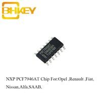 BHKEY 5PCSX 10PCSX Transponder Chip PCF7946 PCF 7946 For Renault Opel Fiat SAAB Alfa Nissan Blank Remote Key Fob