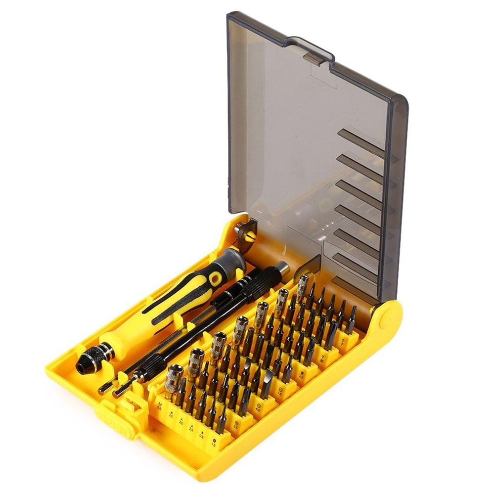 45 in 1 Multipurpose Screwdriver Set Precision Repair Tools Kit   Repair Tools for Cellphone PC Cell Phone iPhone for Notebook  цены