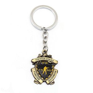 Game CS GO Medal Keychain Men Metal Counter Strike CSGO Keyring Women Car Bag Pendant Jewelry Fans Gift Souvenir llaveros hombre(China)