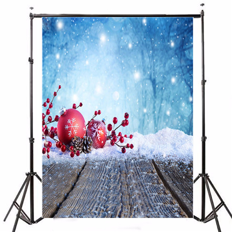 5x7ft Photography Background Christmas Theme Snowman Tree Gift Snowflake Photographic Backdrops For Studio Photo Props 1.5x 2.1m 7x5ft photography vinyl background christmas theme tree photographic backdrops for studio photo props 2 1x1 5m waterproof