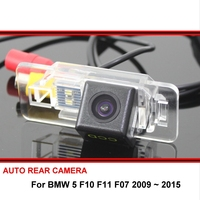 For BMW 5 F10 F11 F07 2009~2015 530I E60 E61 535LI 520LI Night Vision Car Reverse Backup Parking Rear View Camera HD CCD SONY