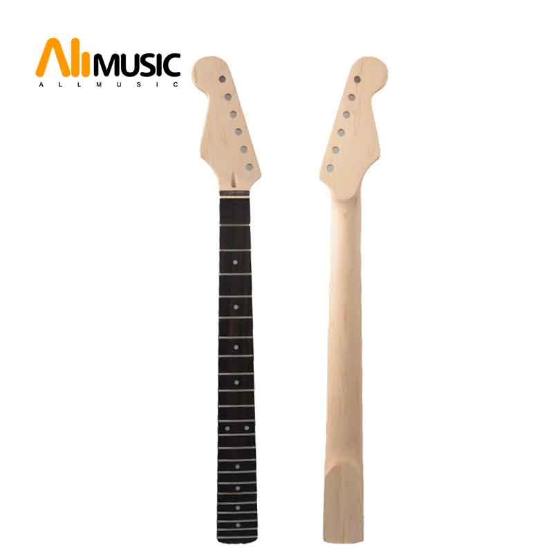 Left Hand 22Fret Guitar Neck Maple Rosewood Fingerboard for ST Electric Guitar Replacement