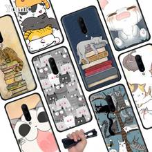 Cute funny A Pile Of Cats art cat Black Soft Case for Oneplus 7 Pro 7 6T 6 Silicone TPU Phone Cases Cover Coque Shell