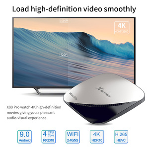 Image 3 - Wechip X88 pro Android 9.0 TV Box 4G 64G Rockchip RK3318 4 Core 2.4G&5G Wifi 4K HDR Set Top Box USB 3.0 Support 3D Movie Ott Box