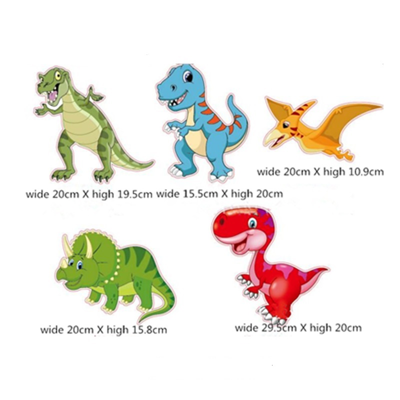 30pcs Dinosaur Hanging Swirl Decorations Dino Fossil T REX Birthday Party Supplies Ornaments Whirls Kids Favors In DIY From