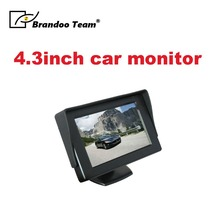 Cheap 4.3 inch LCD monitor for car,taxi,mini bus use