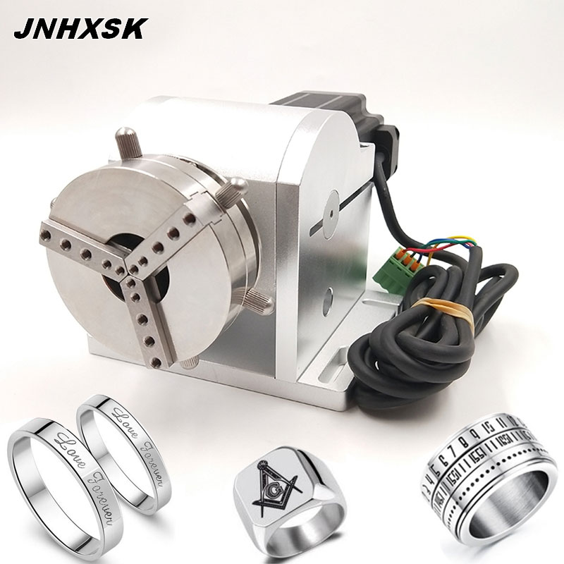 JNHXSK Marking Machine Accessories Ring Jewelry Marking Rotary Axis Shaft Use For Fiber Laser Marking Machine