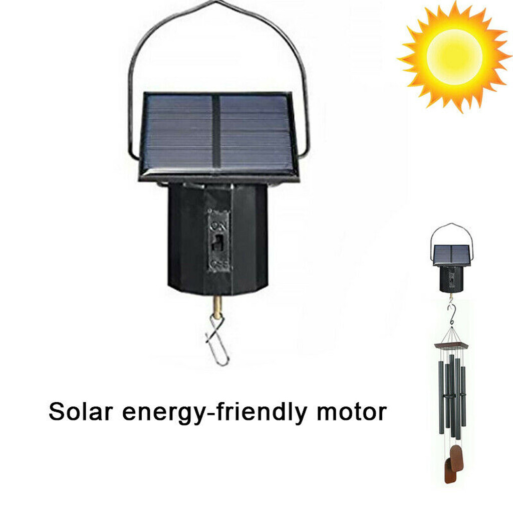 Garden Yard Party Electric Solar Spinner Motor 1.6v 0.35w High Speed Large Torquemotor Tool Electric Machinery Solar Wind Chime
