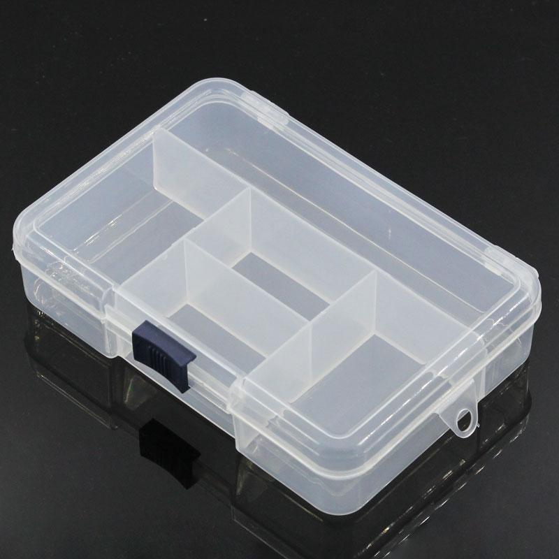 Urijk Caja de almacenamiento transparente de plástico 5 - Organización y almacenamiento en la casa - foto 4