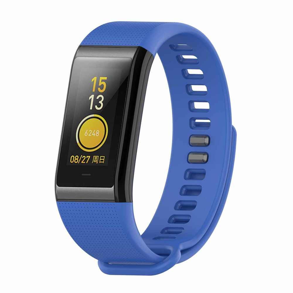 Correa de reloj de silicona nueva clásica para Xiaomi Huami Amazfit Cor A1702 reemplazo cómodo pulsera colorida correa de reloj