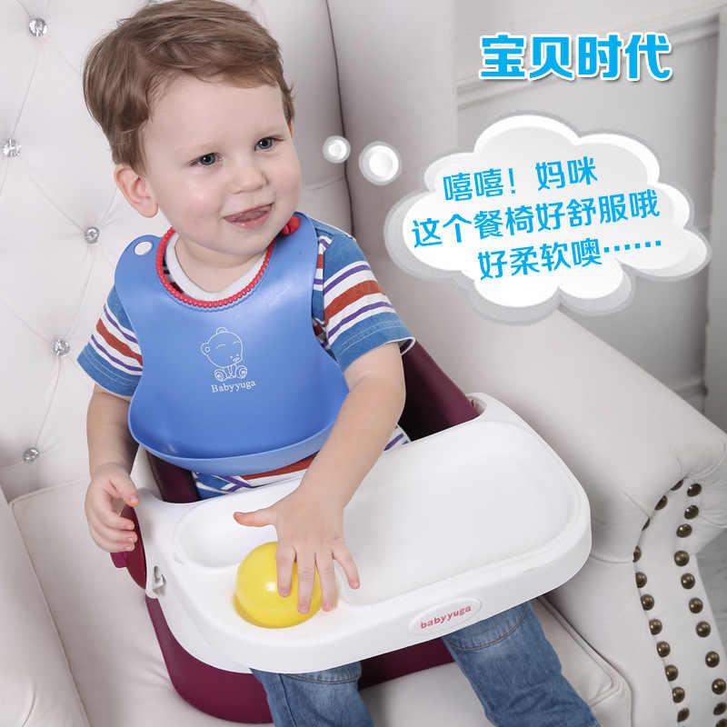 Оптовая продажа детский портативный складной роскошный столик для кормления малыша PU Подушка стол детское кресло в машину стул детское сиденье стул для еды ребенка