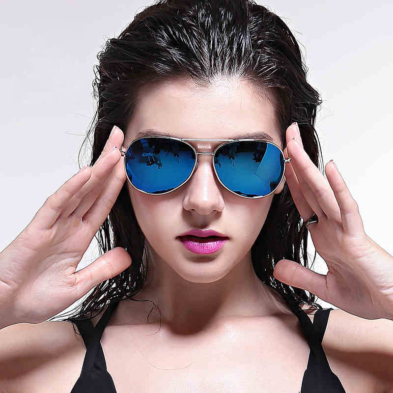 2018 Fashion Polaroid Sunglasses New Pilot Sun Glasses For