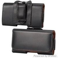 For LG Optimus Black P970 Belt Clip Loop Hip Holster Leather Flip Pouch Case Cover Belt