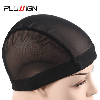 Plussign Unisex Quality Dome Mesh Caps For Making Wigs Wholesale 1PC Stretchable Glueless Hair Weaving Nets Wig Cap Weave - discount item  31% OFF Hair Tools & Accessories