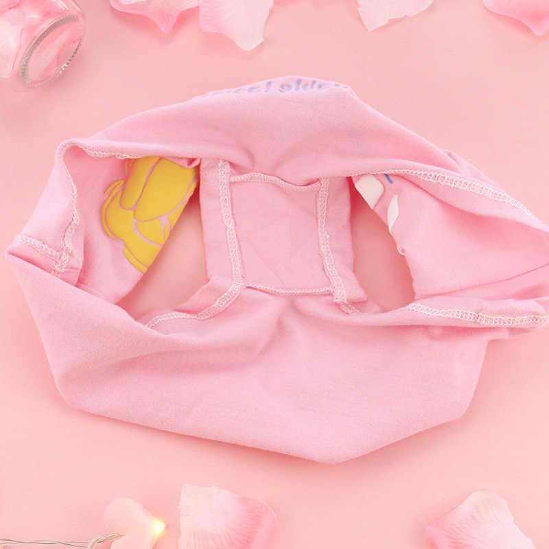 الاطفال القطن الملاكم الفتيات لطيف طباعة Cartton الملابس الداخلية الفتيات في سن المراهقة غير رسمية سراويل 2019 ملابس داخلية لأطفال Calcinha Infantil