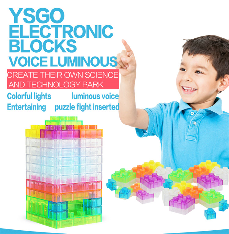 32pcs Integrated Circuit Building Blocks Electronic Component Educational & Learning Blocks for Kids Best Christmas Gift Toys new educational toys for kids game electronic building blocks sets enlighten bricks physics learning best gift for children