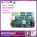 Onbon BX-5QL usb + ethernet привело платы управления светодиодный контроллер карты питания 32*512 pixel T75 * 2 T08 * 4 для rgb светодиодный дисплей mdoule