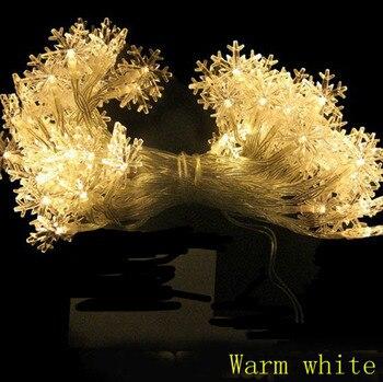 5bbbf331c793 2 m 3 m 4 m 5 m 10 M 20 m LED copo de nieve con pilas luces de cuerda de  hadas para interiores al aire libre guirnalda fiesta de año nuevo  decoración ...