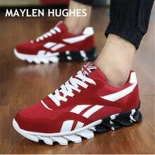 Новинка весна осень Мужская обувь для бега для улицы удобные мужские кроссовки Мужская Спортивная обувь