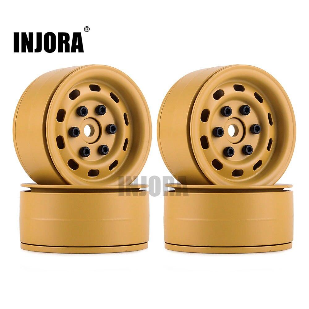 Металлический обод колеса 1,9 , 4 шт., для 1/10 RC Rock Crawler Traxxas 90046 D90 D110 Defender Axial SCX10 90047