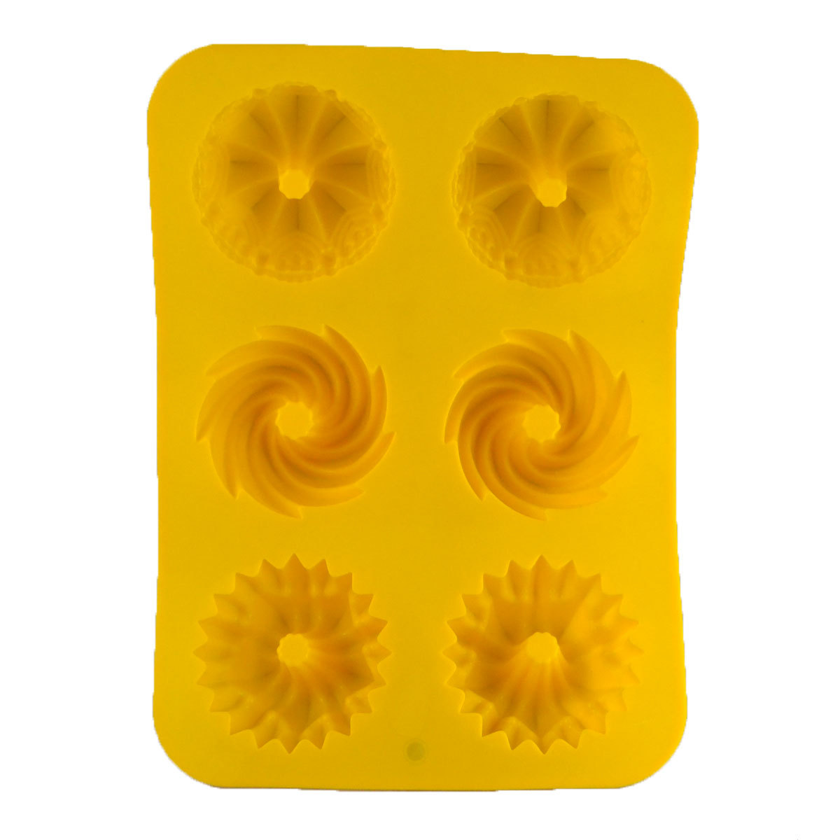 Microwave oven silica gel cake baking mould DIY Handmade Soap Making Silicone Mold in Soap Molds from Home Garden