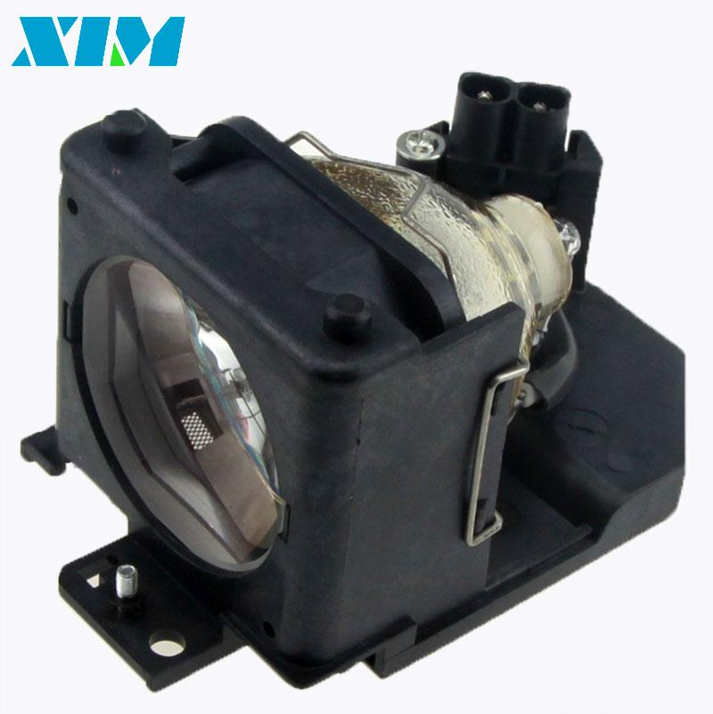 DT00701 Replacement Projector lamp with Housing for HITACHI CP-HS980 CP-HX990 CP-RS55 CP-RS56 CP-RS56+ CP-RS57 CP-RX61+ PJ-LC7