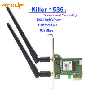 Killer K1535 Wireless/Bluetooth Linux