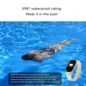 Image 5 - بلوتوث مقاوم للماء ساعة ذكية النساء السيدات الموضة مراقب معدل ضربات القلب جهاز تعقب للياقة البدنية Smartwatch Mujer ل IOS أندرويد