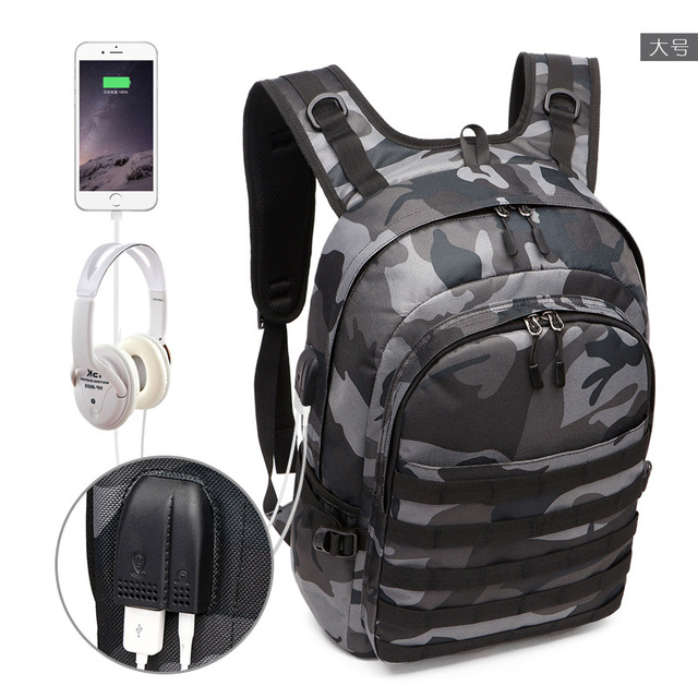 Cosplay Backpack Jedi To Survive To Eating Chicken Three-Level Package PUBG Fashion Trend Waterproof Large-Capacity Package 3