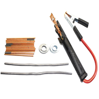 Pole Professional Set Safe Repair Accessories Welding Torch Kit Tool Easy Use Car Battery Copper Pile Mold Fixture Lead Rod