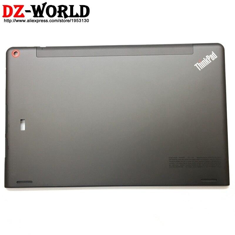 Nouveau/Orig coque arrière couvercle supérieur LCD couvercle arrière noir avec trou FPR pour Lenovo ThinkPad Helix 2 20CG 20CH 60.4E005.003 00HT546