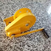 Ручной коленчатый самоконтрящаяся Малый лифт Подъемник Двойной цилиндрический самоблокирующиеся тип подъемного крана