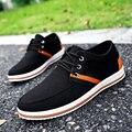 Men Fashion Canvas Shoes Men Breathable Casual Shoes Non-slip Flat Shoes Men New Designer Patchwork Casual Shoes Chaussure Homme