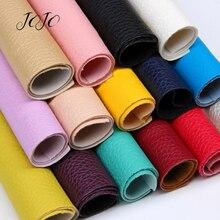 Банты JOJO 22*30 см, 1 шт., искусственная синтетическая кожа, ткань для рукоделия, однотонный мягкий лист личи для рукоделия, бант для волос, домашний декор, швейная одежда