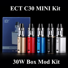 Digital Cigarette Package EGO Cigarette Vape Field Mod ECT C30 Mini Package 30W E Hookah Shisha Pen With ECT Met Atomizer X1091