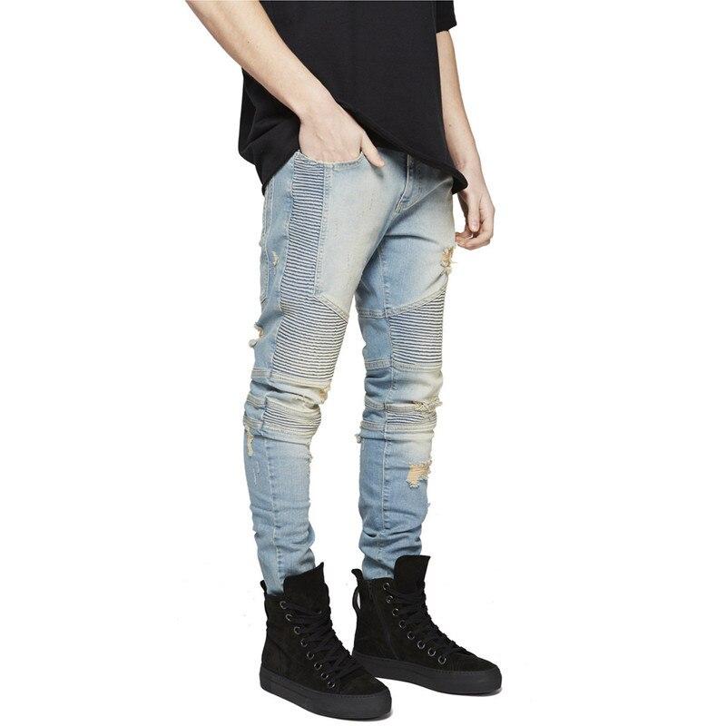 Жан мужчины; джинсовые Жан мужчины; хип-хоп брюки; Длина: Полная Длина;