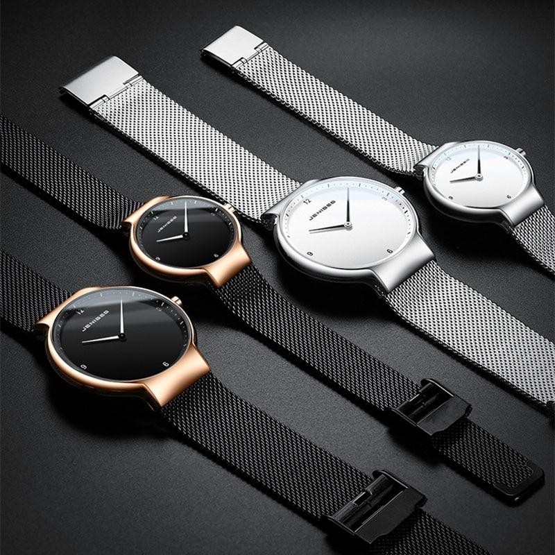 Ultra Thin Men Women Couple Watches 2019 Man Woman Wrist Watch Luxury Brand Male Clock Business Quartz Wristwatch Watch For Men