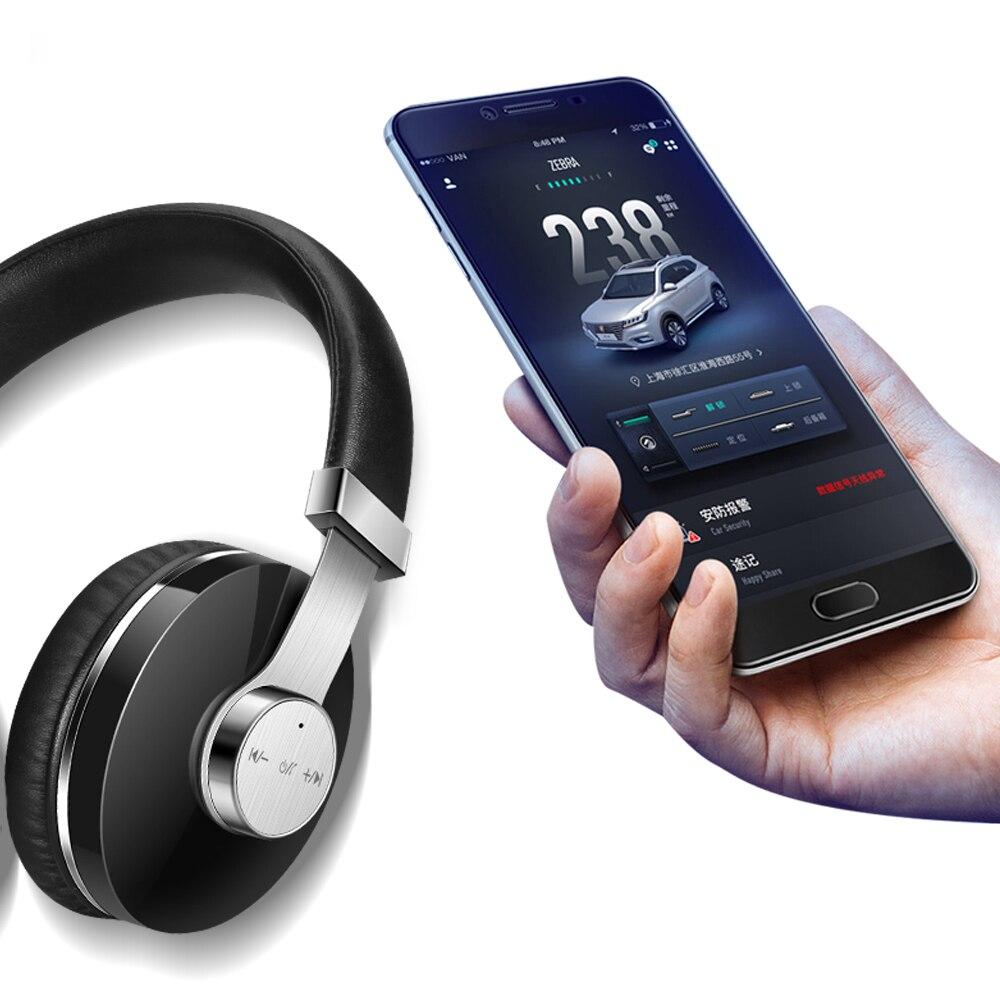 Bandeau intelligent casque sans fil CSR HIFI son suppression de bruit avec SIRI BT casque sur l'oreille avec Microphone pour téléphone portable