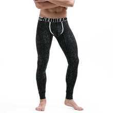 Seobean Brand Warm Cotton Thermal Mens Long Johns Thermo Home Sleepwear Underwear Breathable Male Slim Underpants M L XL XXL