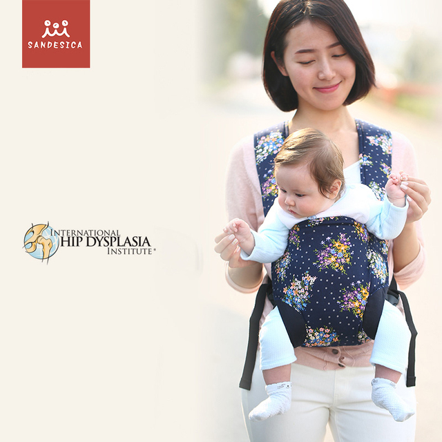 Sandesica 0-12 Months Breathable Front Facing Baby Carrier 4 in 1 Infant Comfortable Sling Backpack Pouch Wrap Baby Kangaroo New