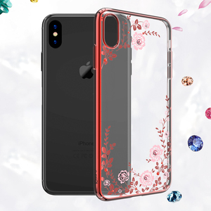 Image 4 - Kingxbar funda con diamantes de imitación para iPhone, funda con cristales de diamante para Apple iPhone X/ XS MAX/ XR