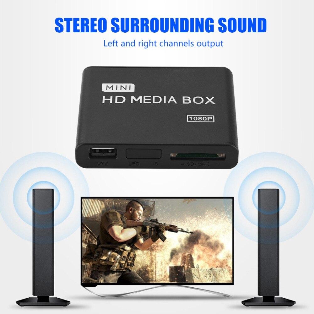 Stereo Surrounding Media Player Center 1080P AV/YPrPb/HDMI Output ...