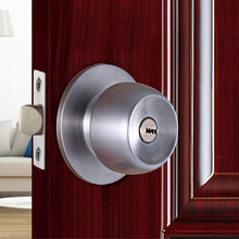 universal for Center distance 52-65MM door lock stainless steel gate security with key free shipping