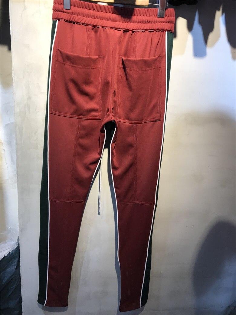Pantaloni Versione Migliore rosso Camouflage Lampo Hiphop Casuale Uomo  Laterale Strada Chiusura Jogger Grigio Dei Da Della Cerniera ... 79490ac5f9c3