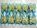 10 unids Oral Higiene Dental Care Personal Sistema de Dientes Blanquear Dental Temporal Corona Material Para Dientes Anteriores y Molares