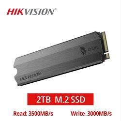 HIKVISION M.2 SSD NVME 1 ТБ 2 ТБ 512GB C2000 твердотельный накопитель кэш PCIe Gen3x4 для настольного ноутбука небольшой сервер большой емкости