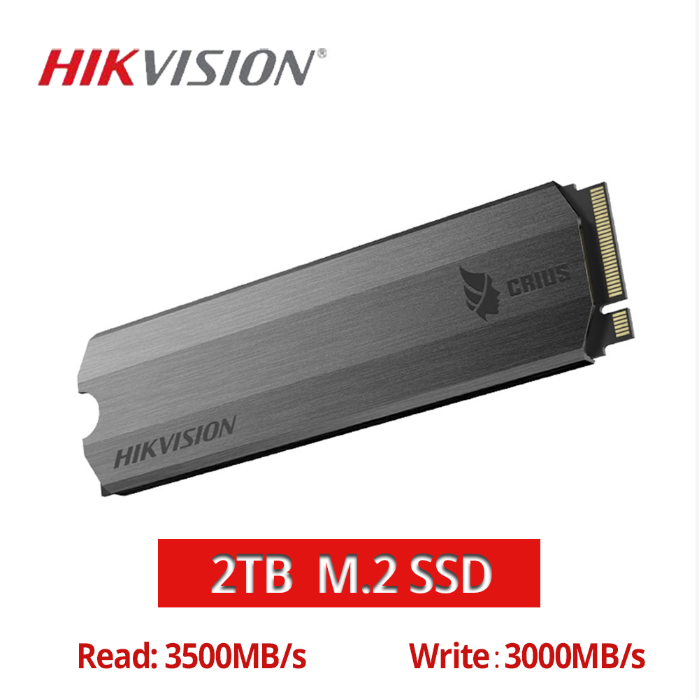 HIKVISION M.2 SSD NVME 1tb 2tb 512GB C2000 Solid State Drive Cache PCIe Gen3x4 For Desktop Laptop Small Server High Capacity